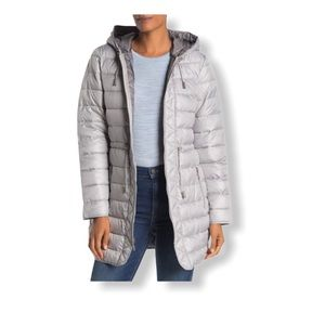 Kenneth Cole New York Hooded Packable Puffer Coat